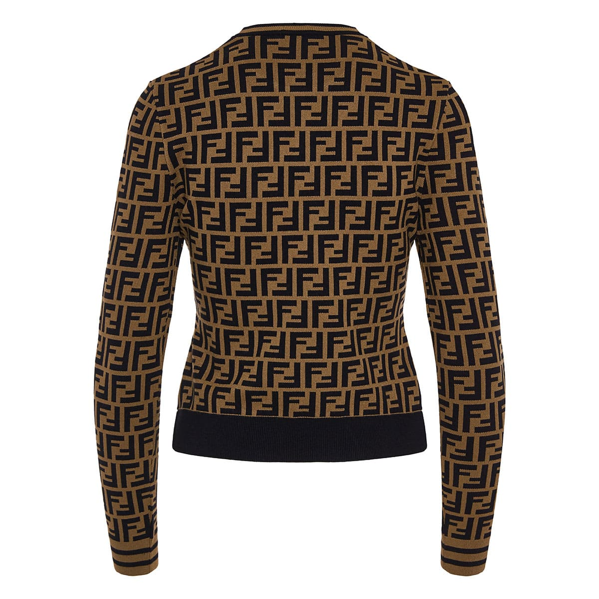 FF logo knitted sweater
