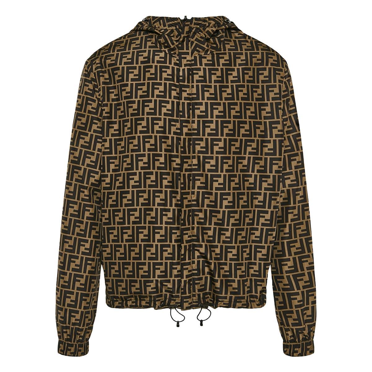 FF reversible nylon jacket