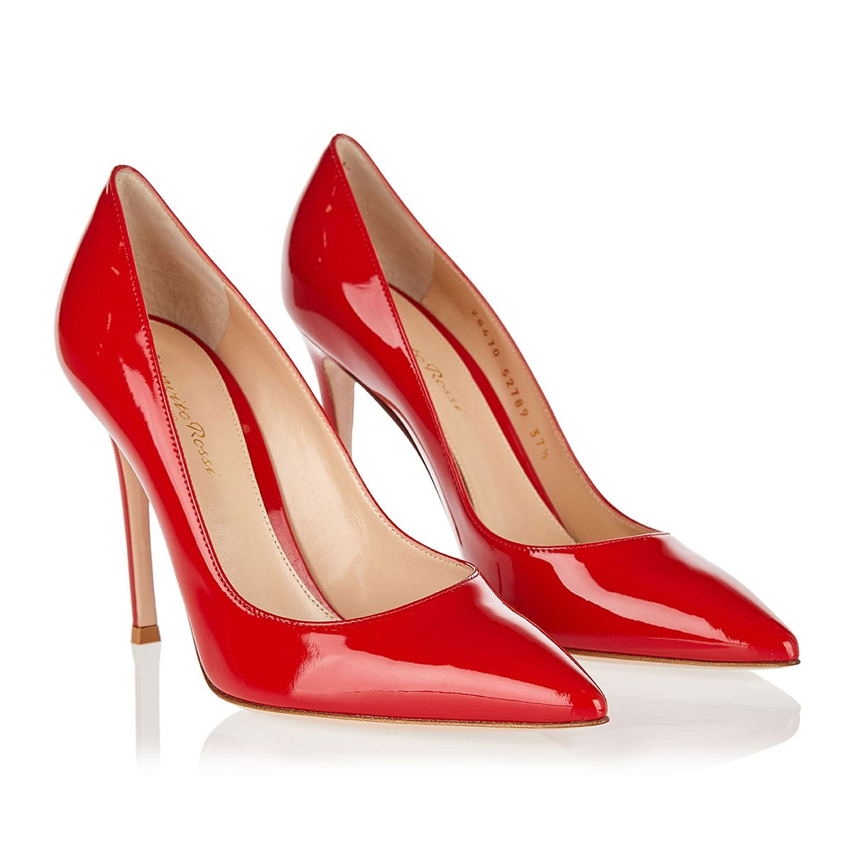 Gianvito 105 patent leather pumps