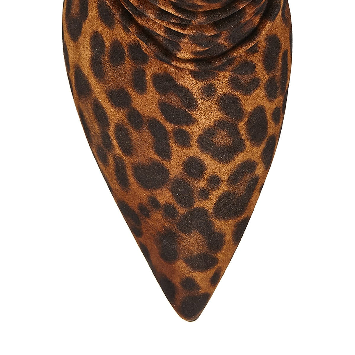Cecile 85 leopard slouchy booties