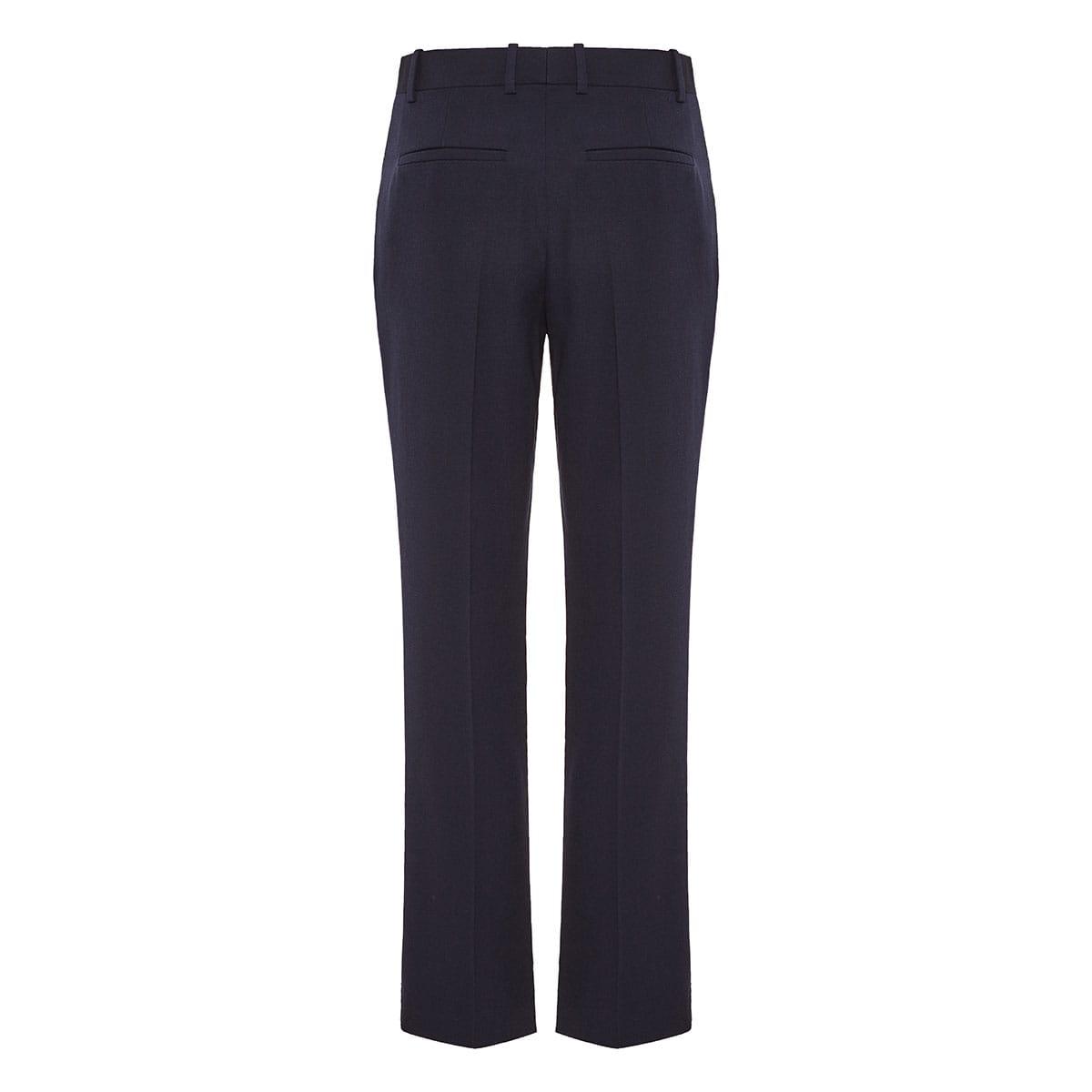 Cigarette wool trousers
