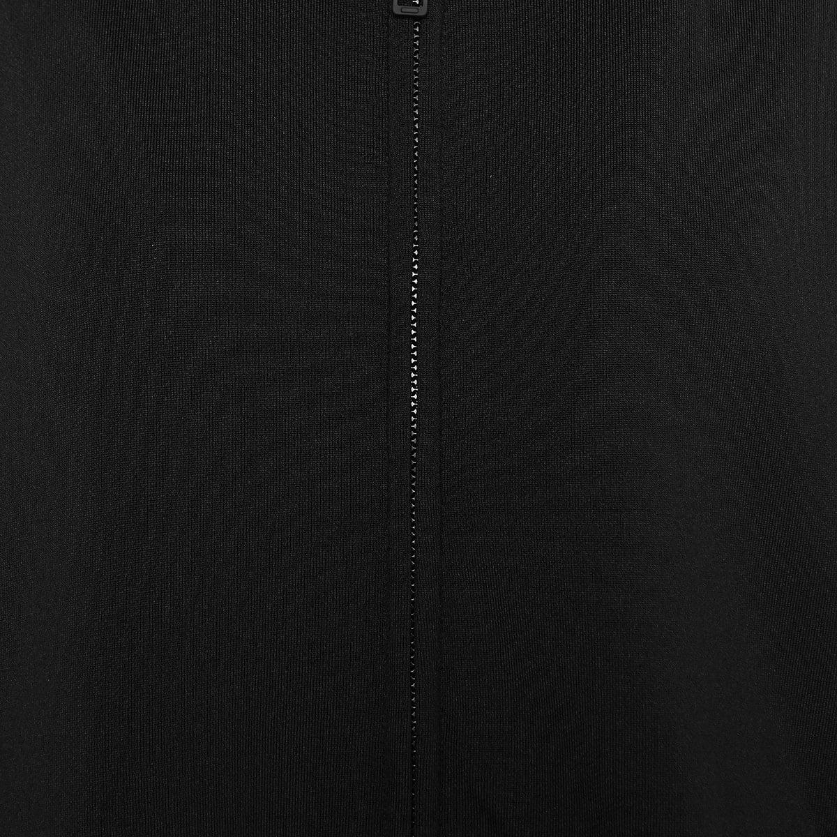 Oversized logo zip hoodie