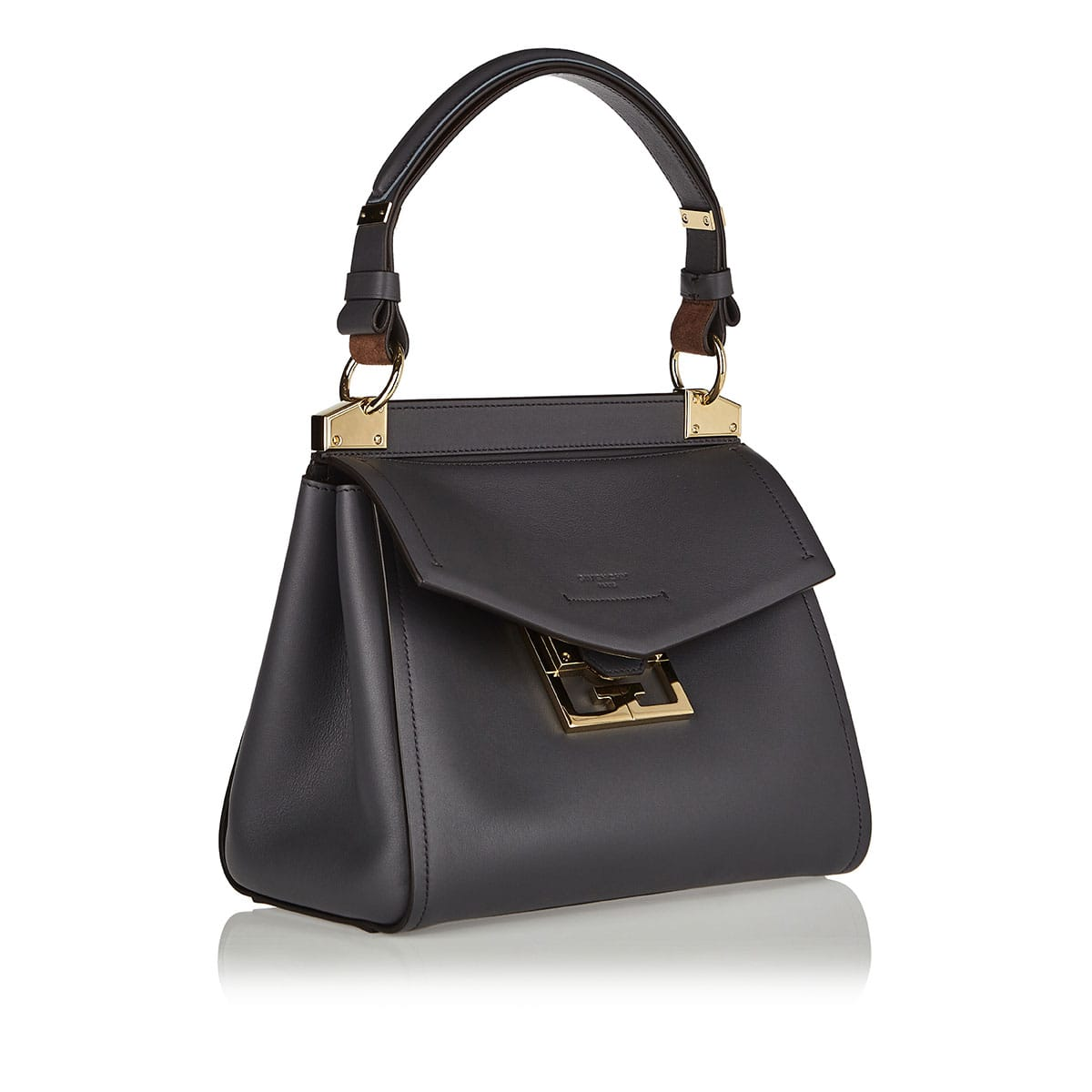 Mystic small leather shoulder bag