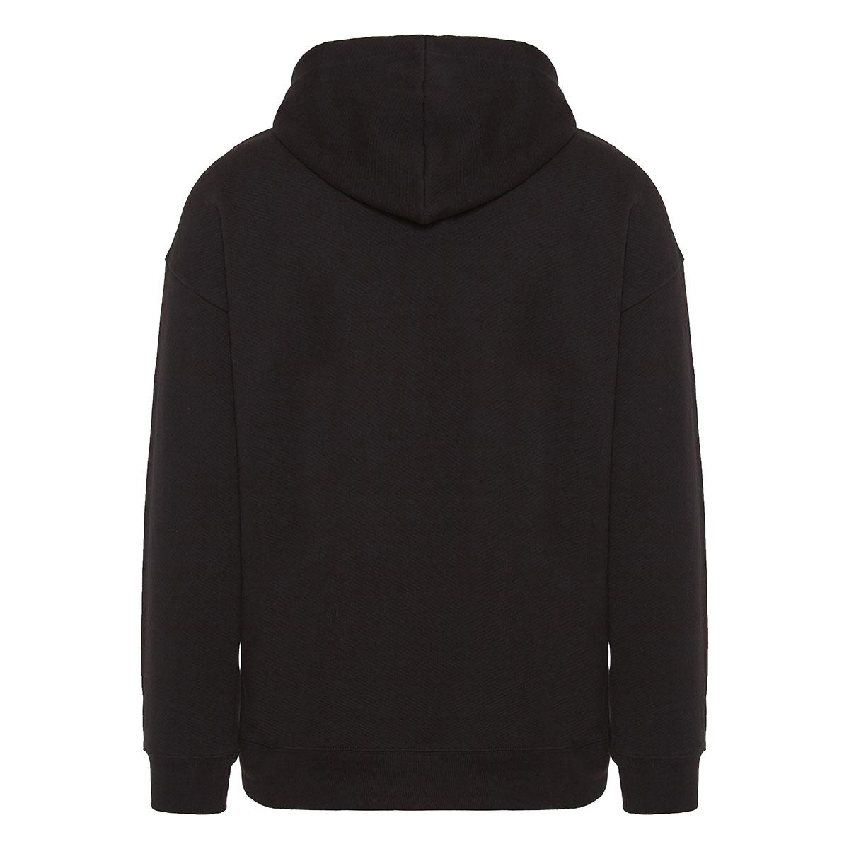 Glow-in-the-dark logo hoodie