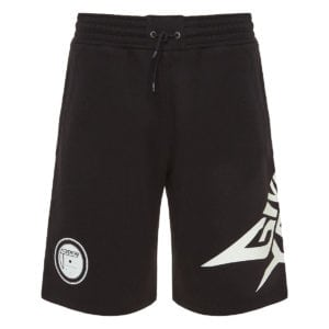 Glow-in-the-dark cotton shorts