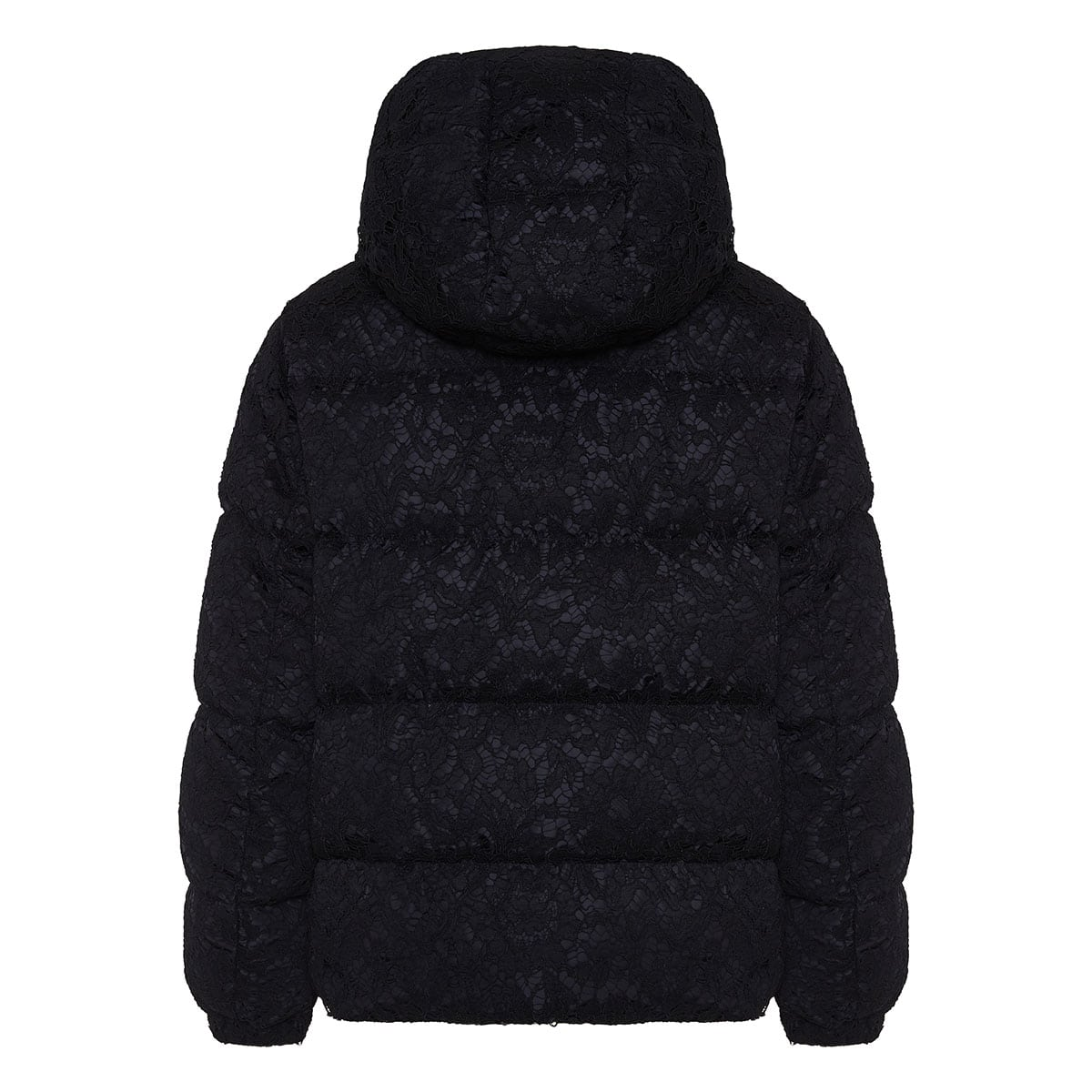 Lace down quilted jacket