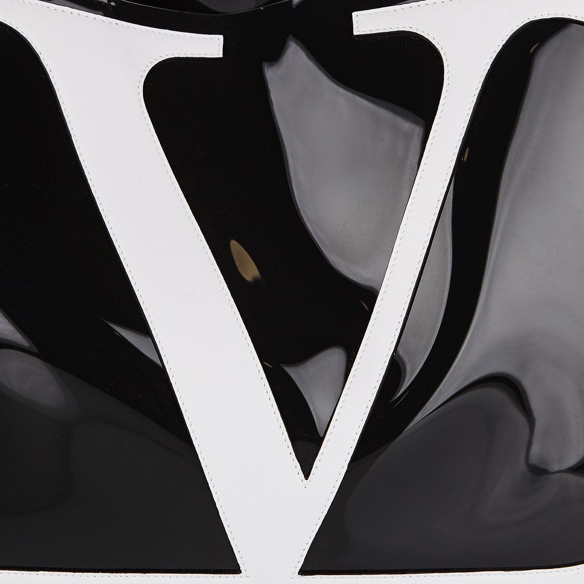 V-Logo pvc tote