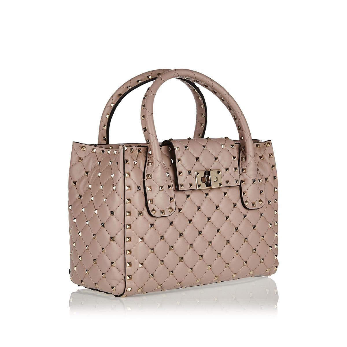 Rockstud SM leather handbag