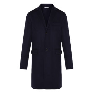 Rockstud untitled wool coat