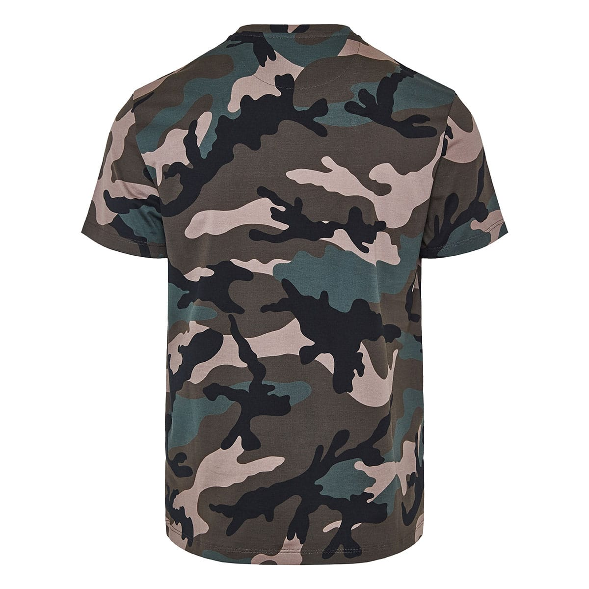 V-Logo camouflage T-shirt