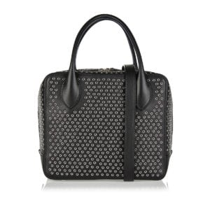 Elba studded top-handle bag