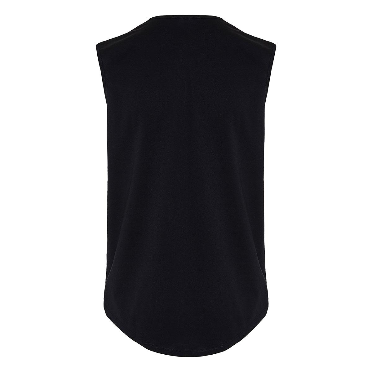 Logo sleeveless top