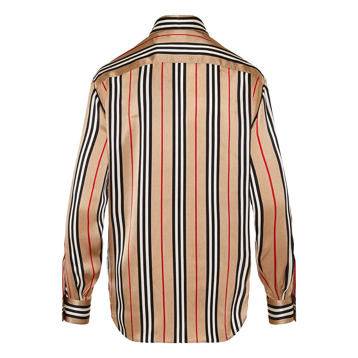 Icon Stripe silk shirt
