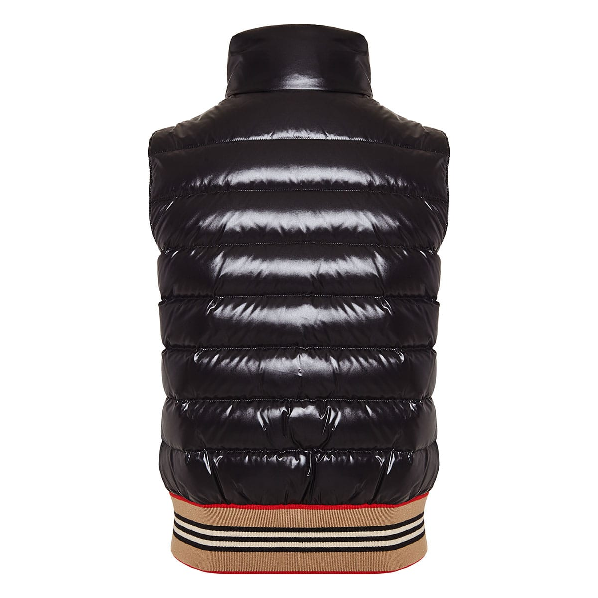 Icon Stripe Detail Down-filled Puffer Gilet