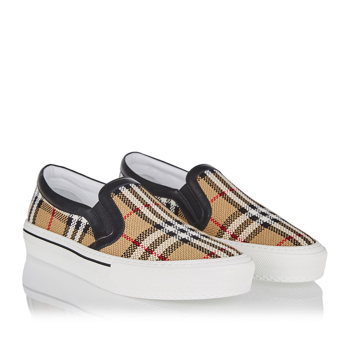 Vintage Check slip-on sneaker