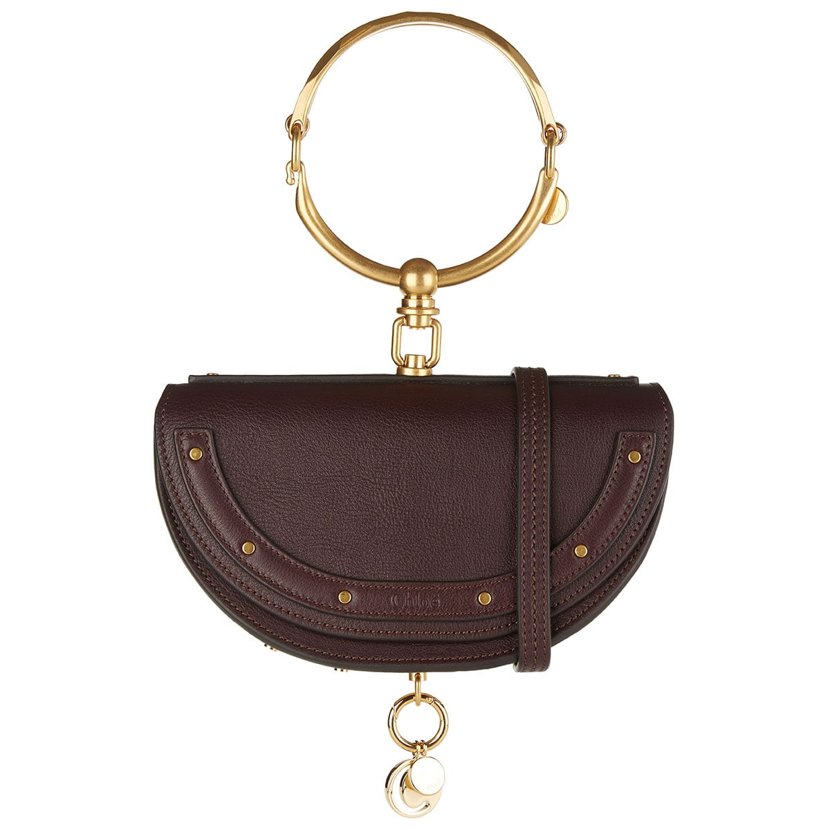 Nile Minaudière leather bag