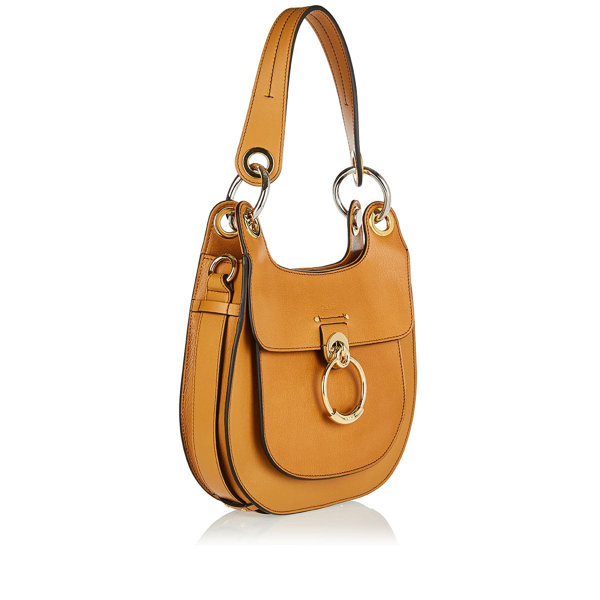 Tess leather shoulder bag