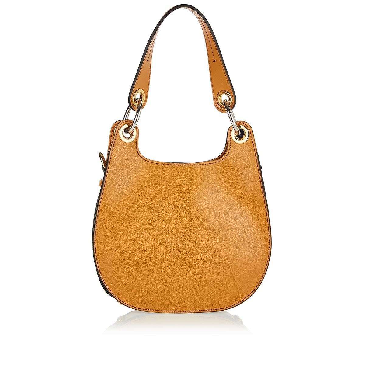 Tess leather shoulder bag