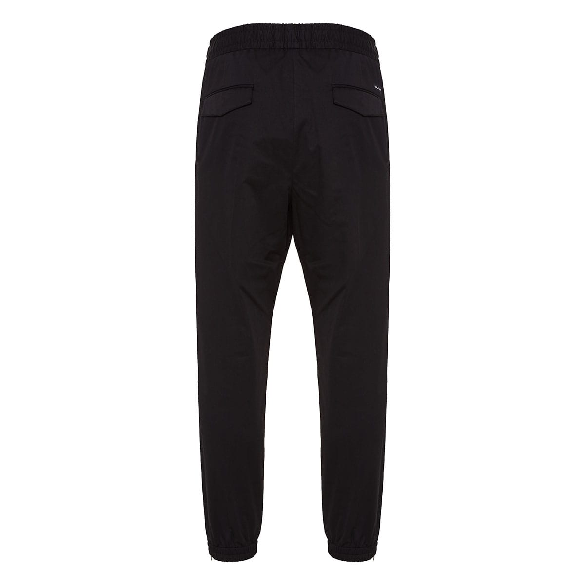 Track-style cotton trousers