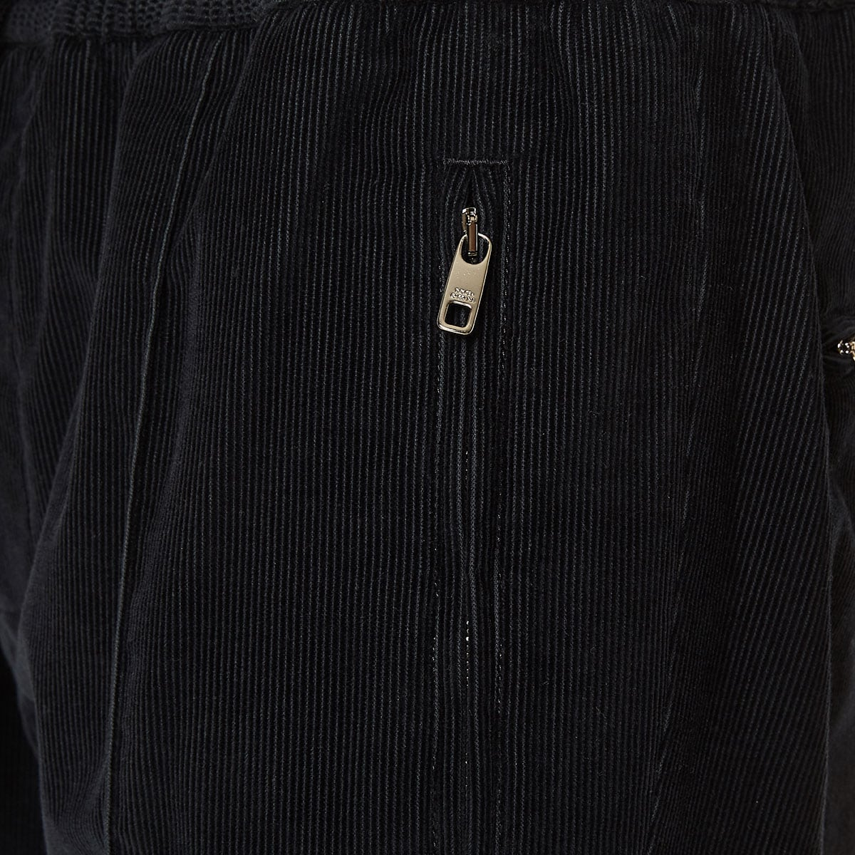 Corduroy track trousers