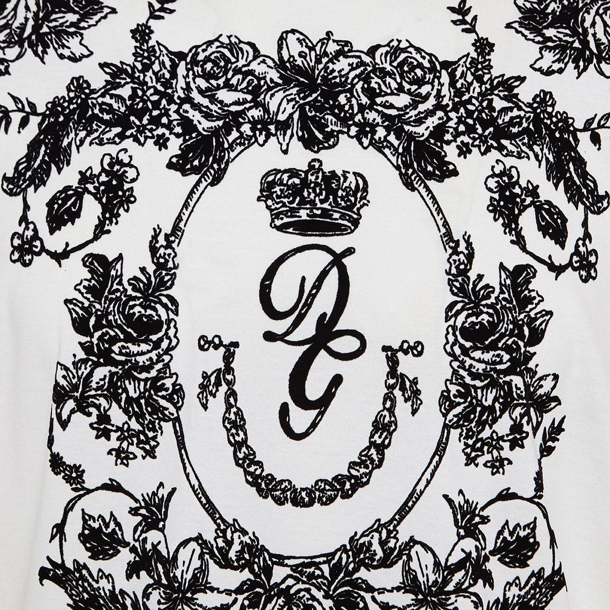 Floral logo t-shirt