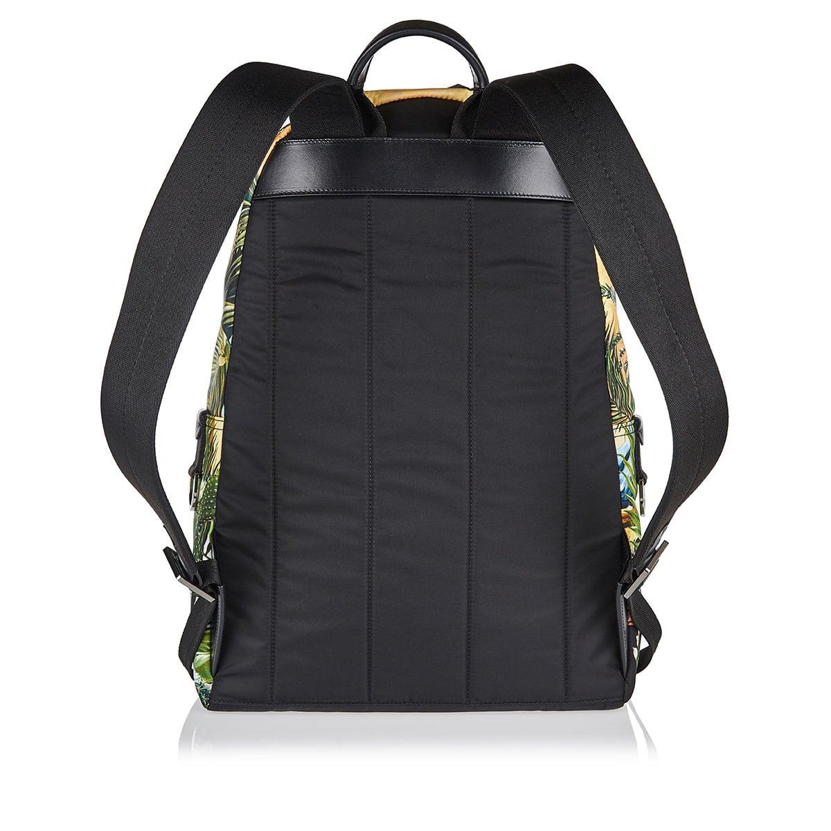 Tropical-printed Vulcano backpack