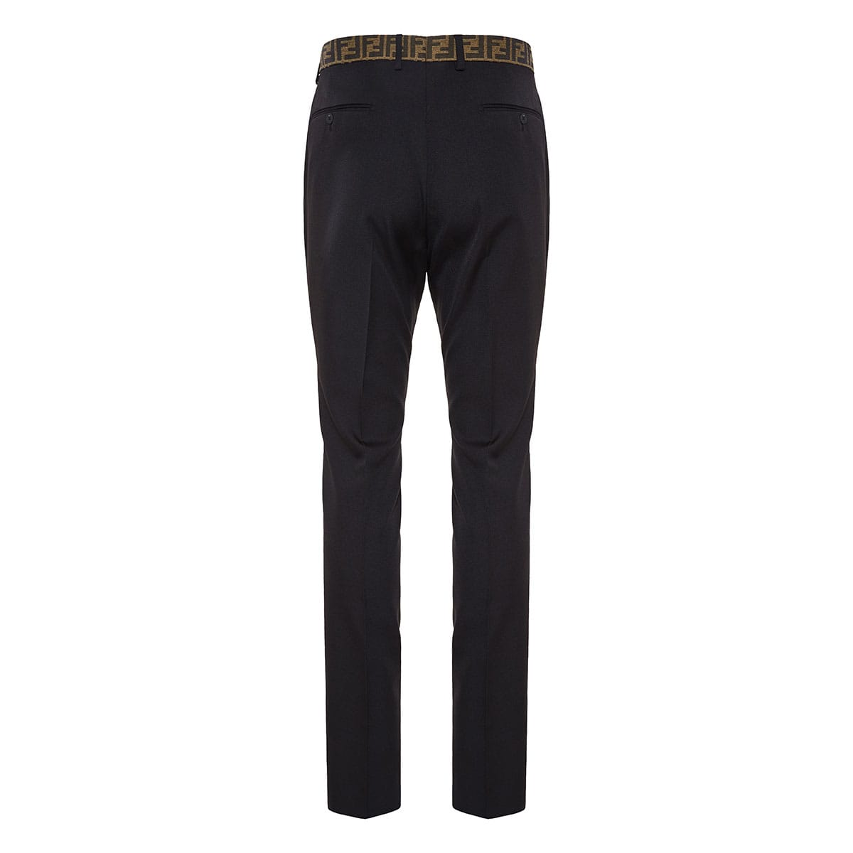 Tailored trousers with FF detail