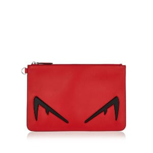 Diabolic Eyes leather pouch