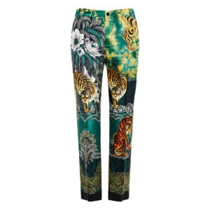 Tartaro printed cropped pajama trousers