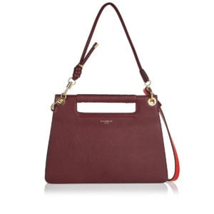 Whip medium leather shoulder bag