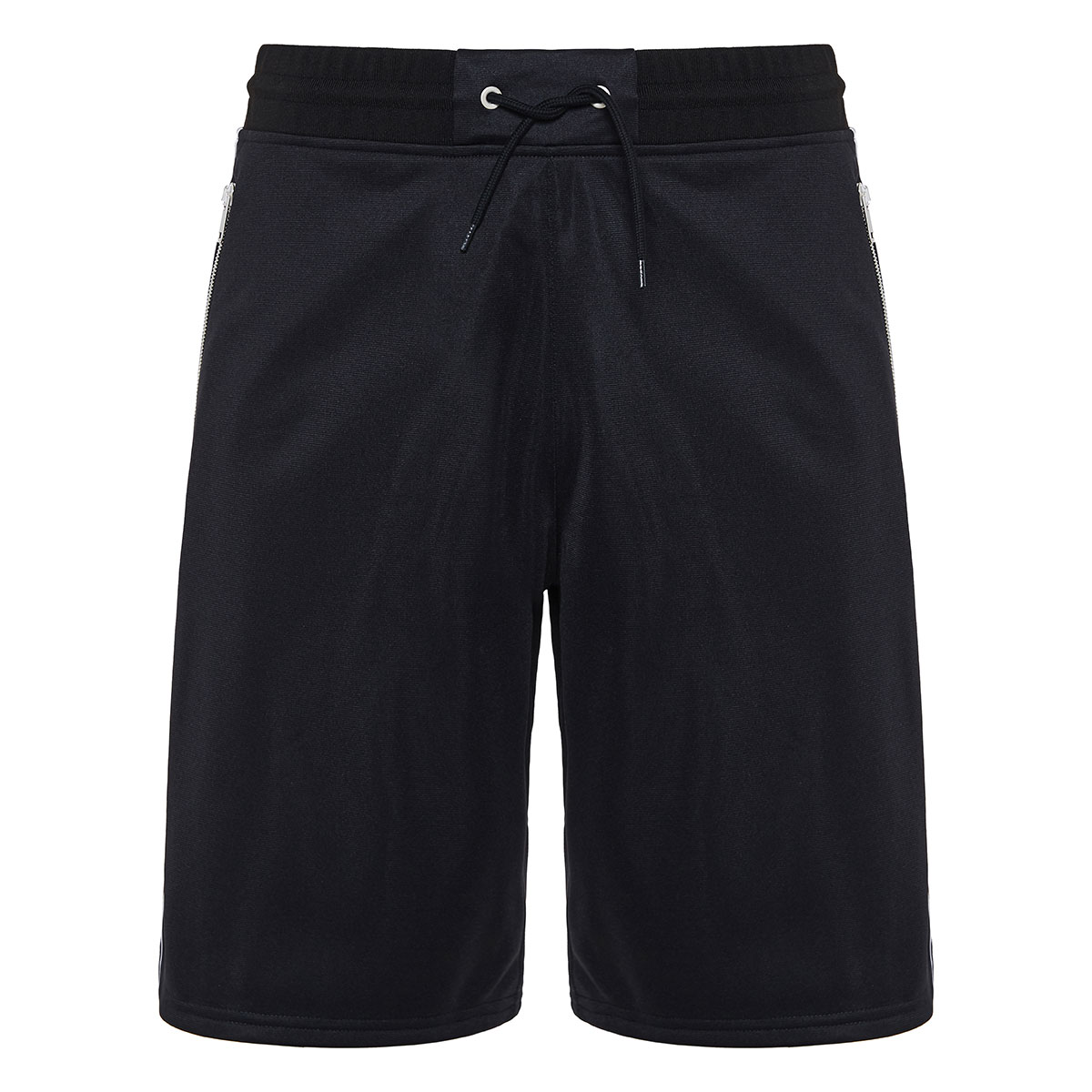 Track shorts with logo bands