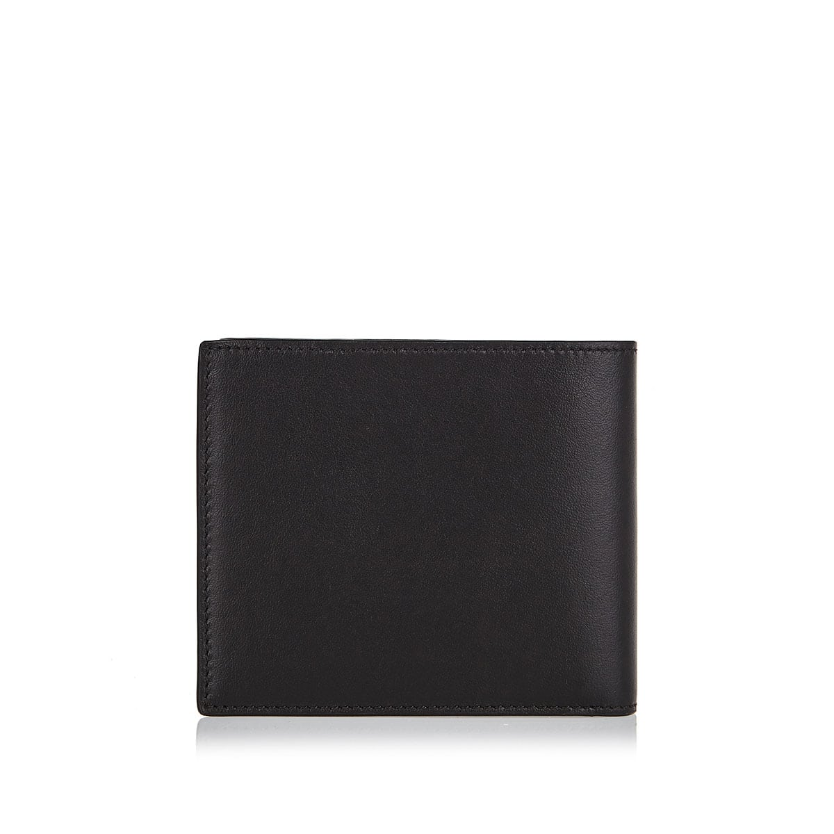 Logo-address bifold wallet