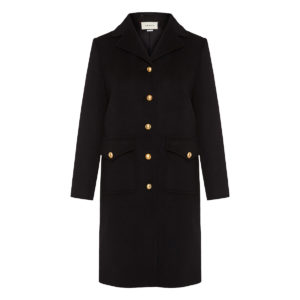 GG embellished wool coat