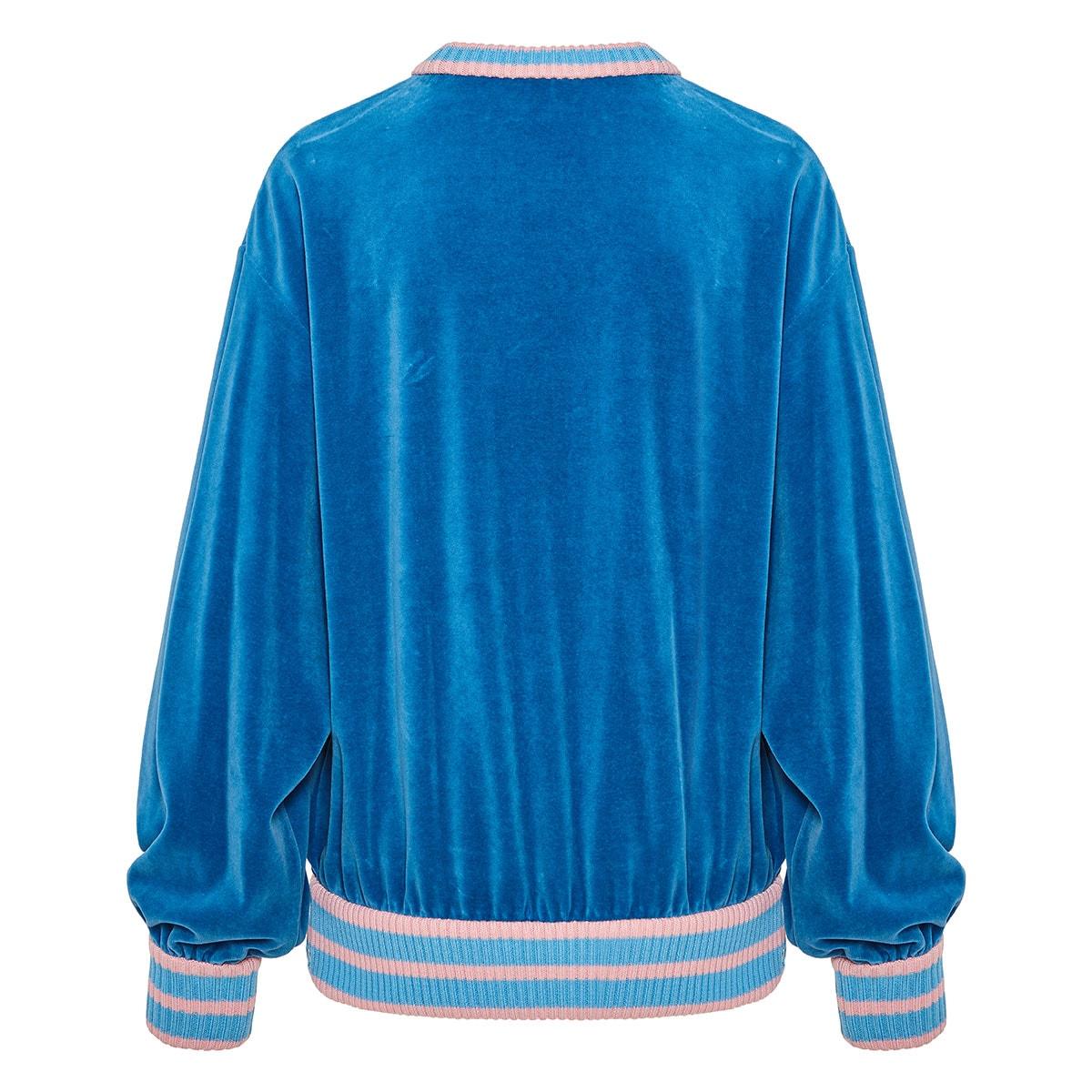 Oversized Gucci Tennis chenille sweatshirt