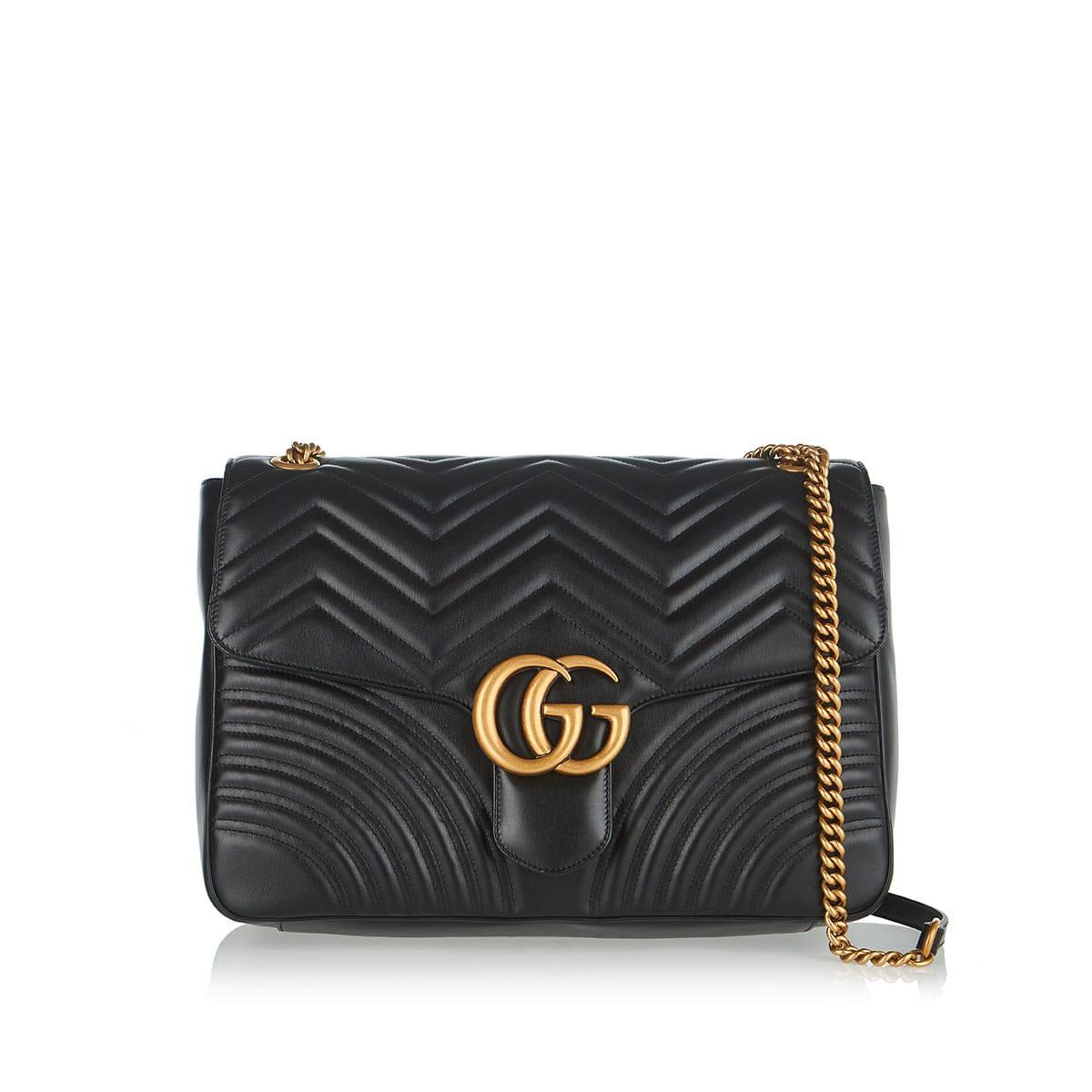a4566555f GG Marmont Large shoulder bag | LuisaWorld
