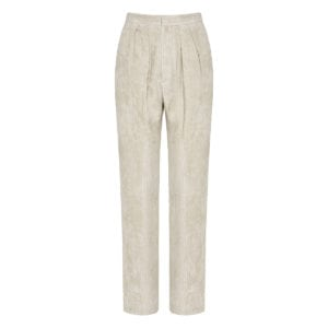 Fany corduroy wide-leg trousers