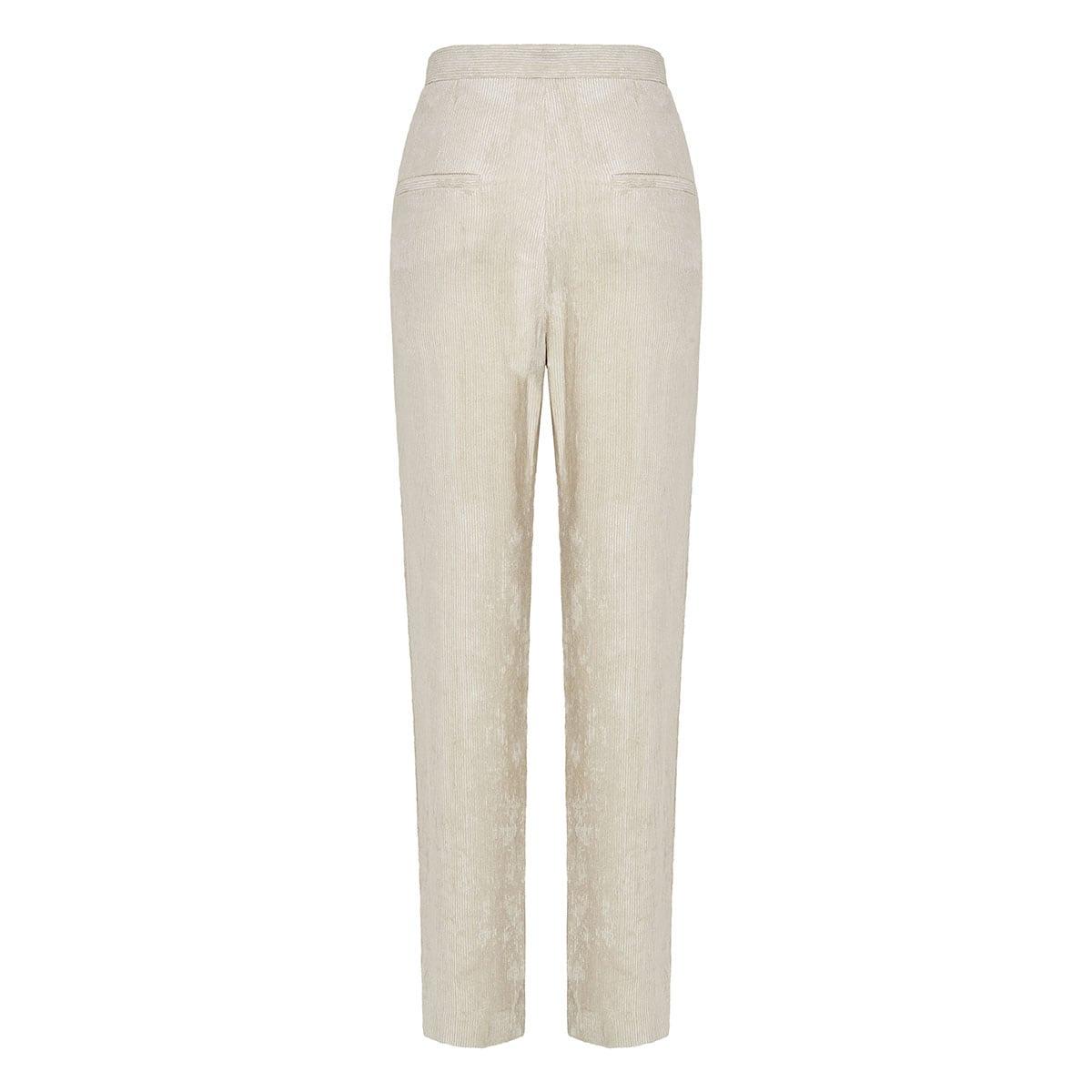 Fany corduroy wide-leg trousers