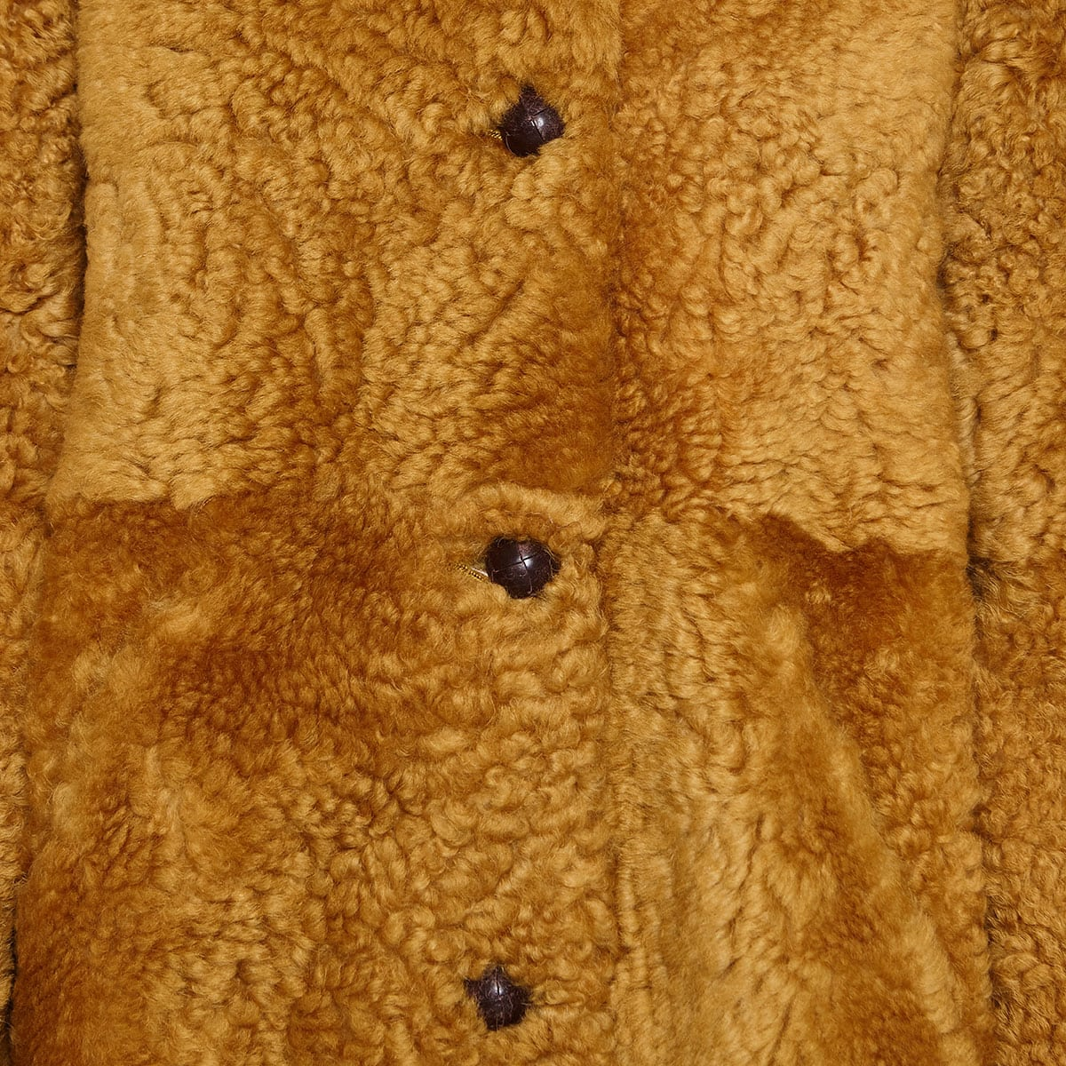 Sarvey oversized shearling coat
