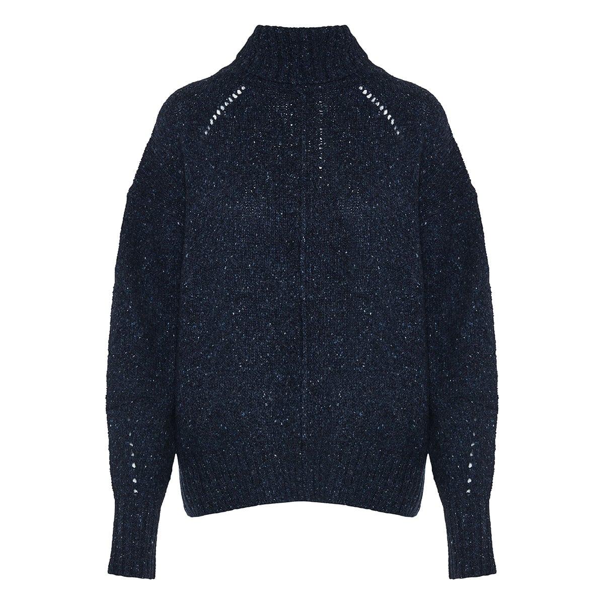 Harriett roll-neck oversized sweater