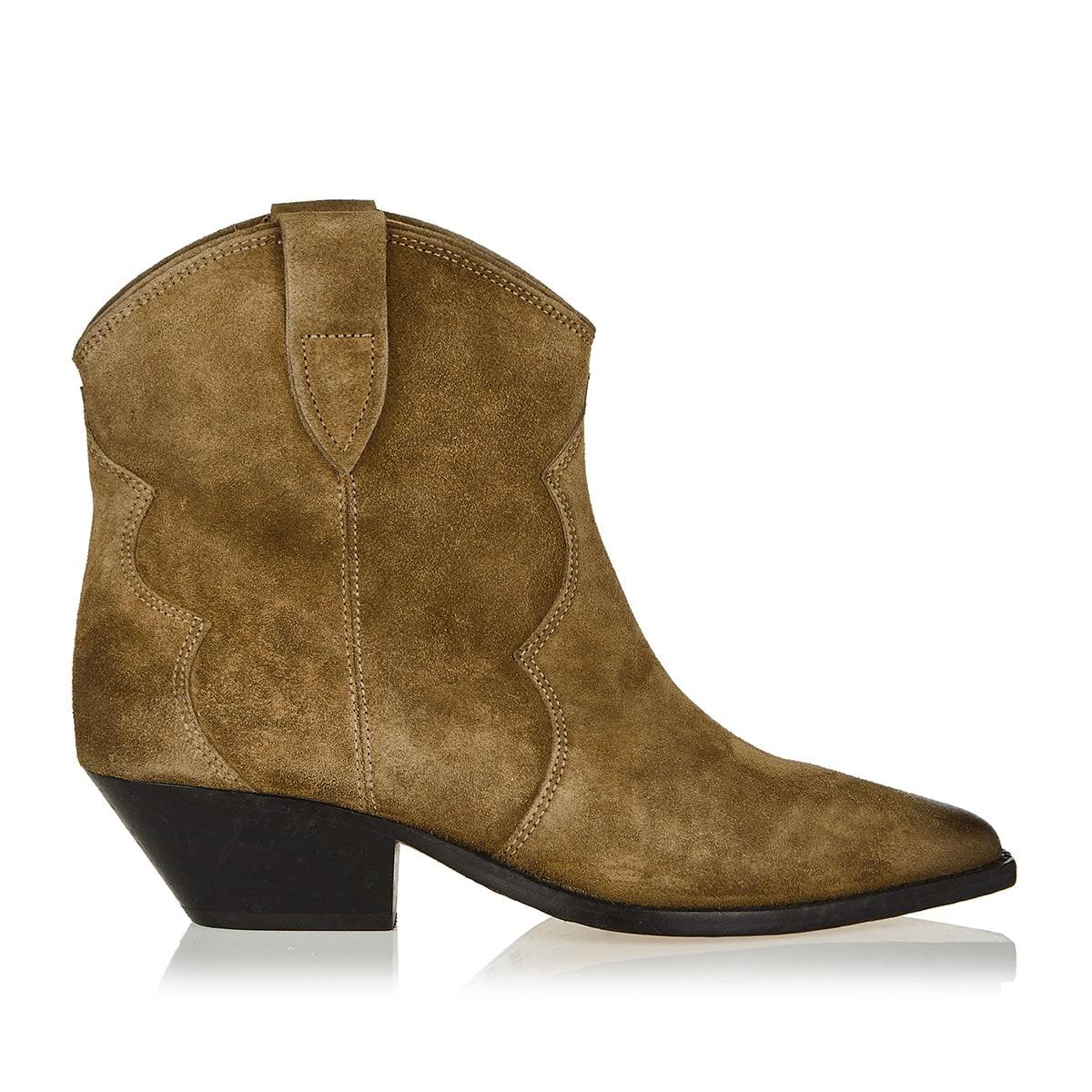 Dewina cowboy suede ankle boots