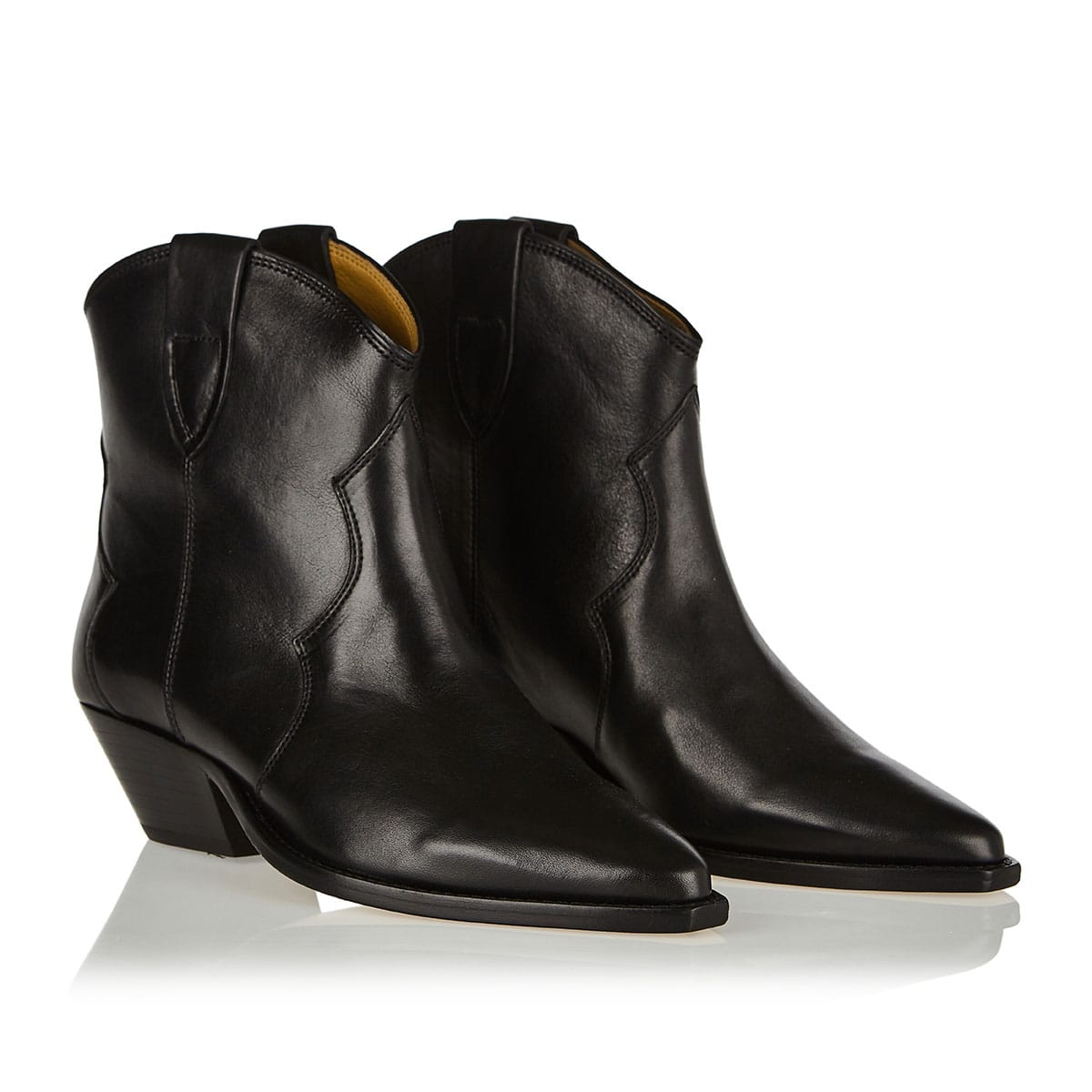 Dewina cowboy ankle boots