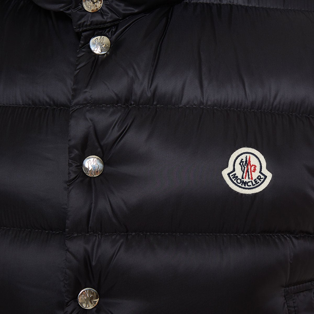 Legere logo-patch hooded quilted down gilet
