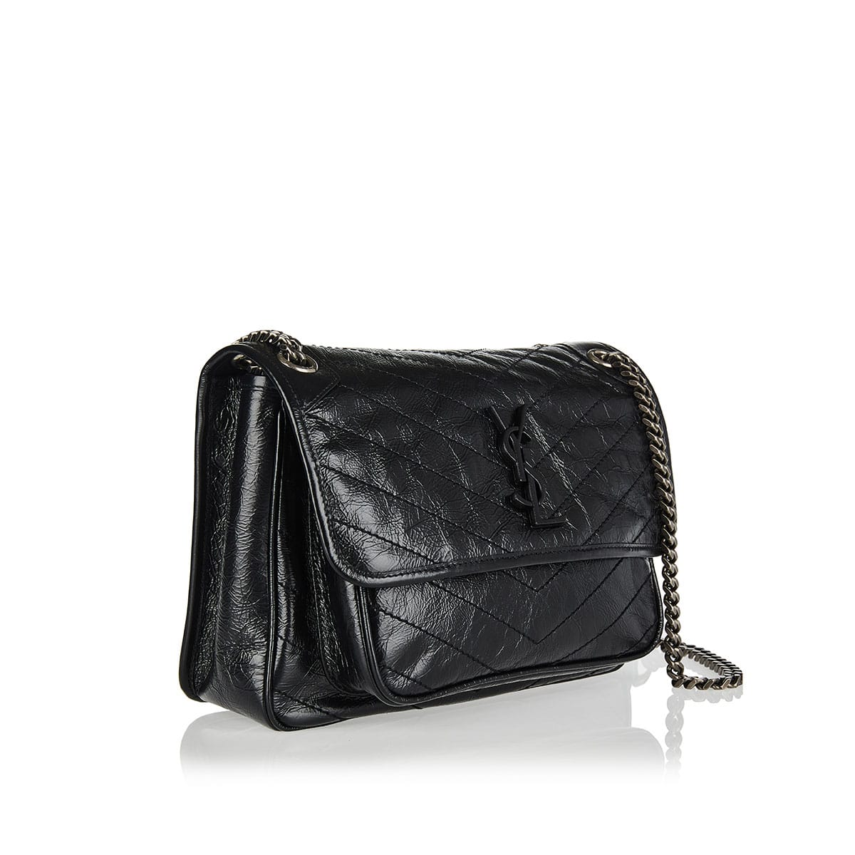 Medium Niki leather shoulder bag