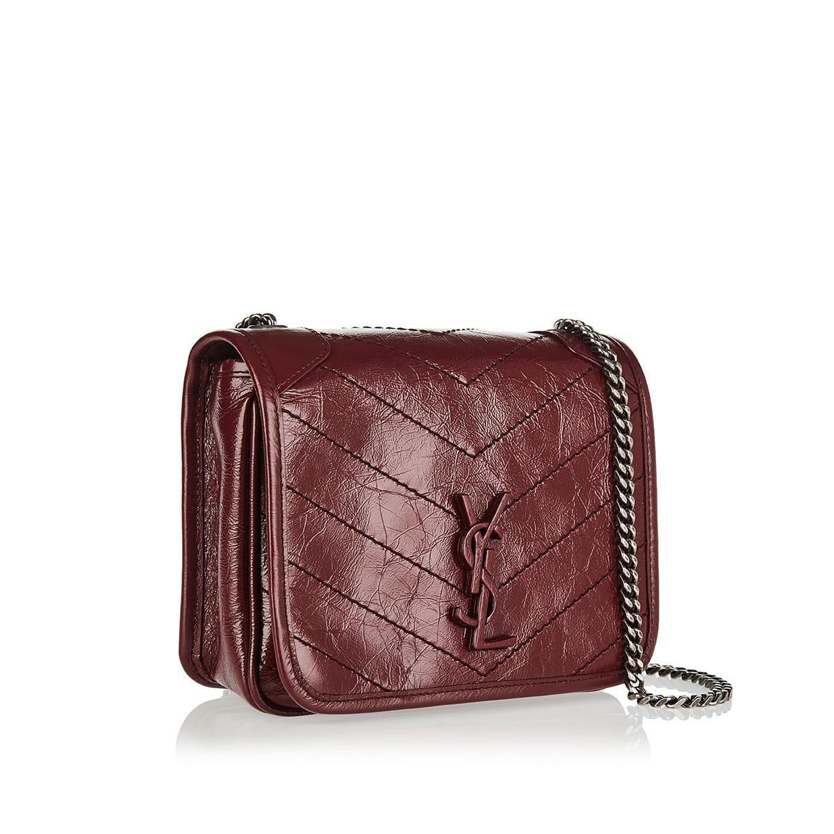 Niki Mini leather shoulder bag