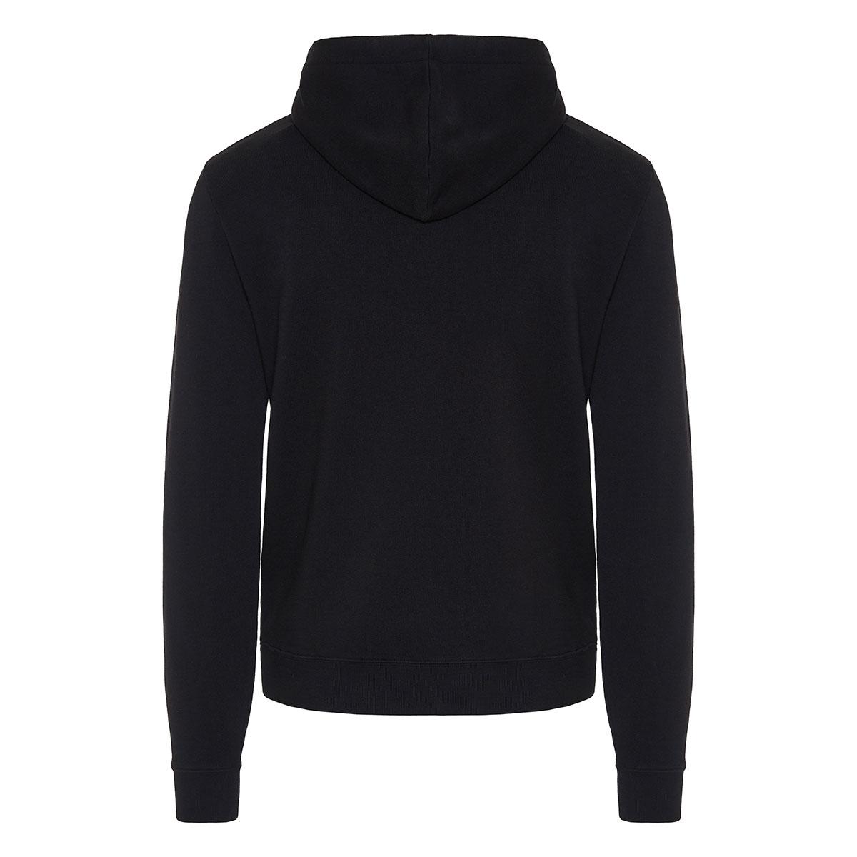 Logo cotton hoodie