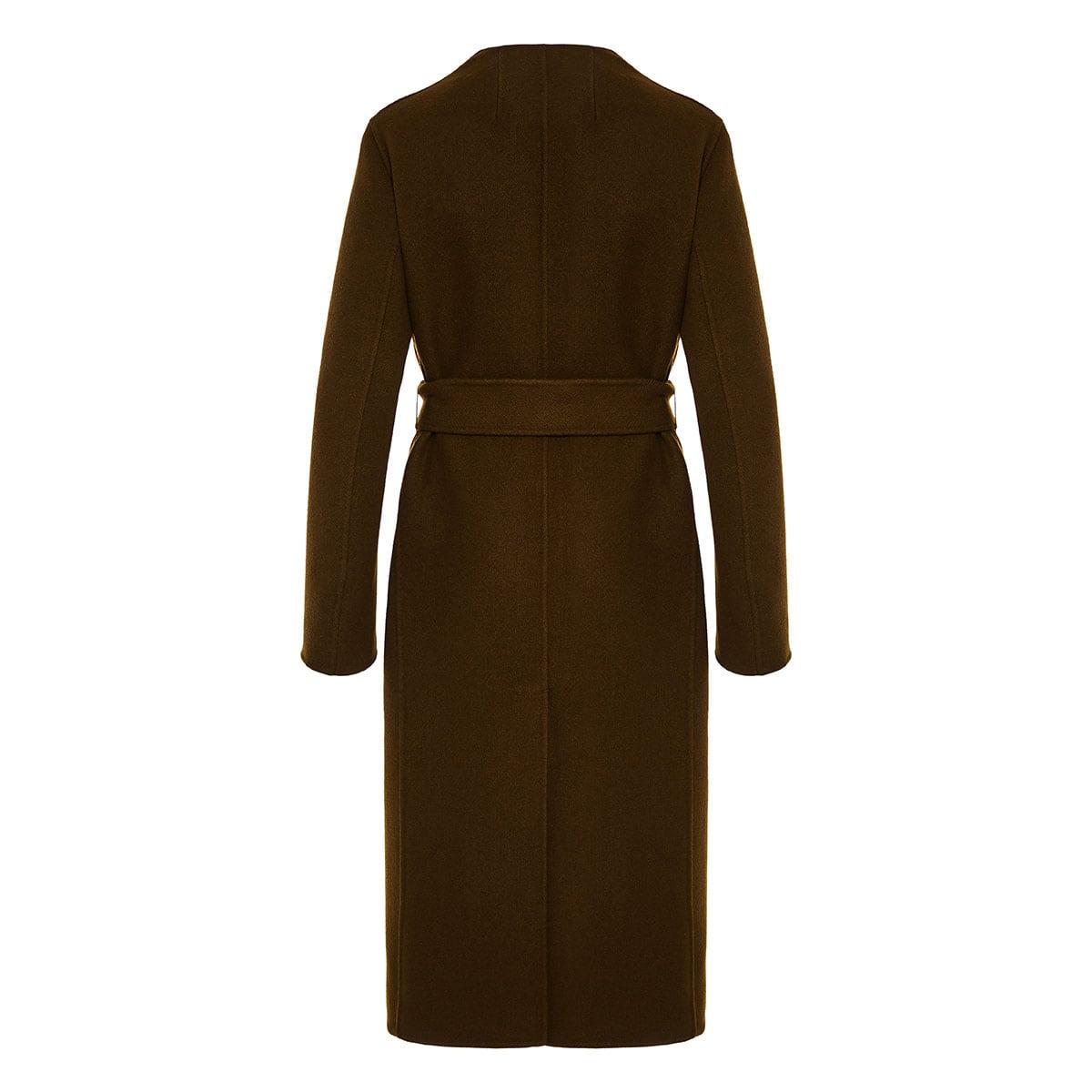 Terin belted wool coat