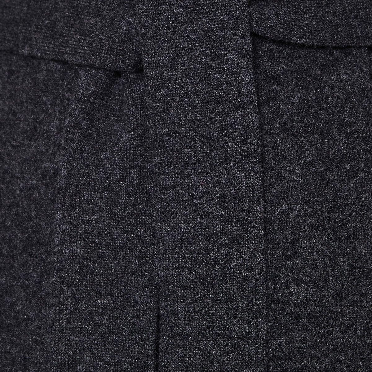 Hera belted wool cardigan