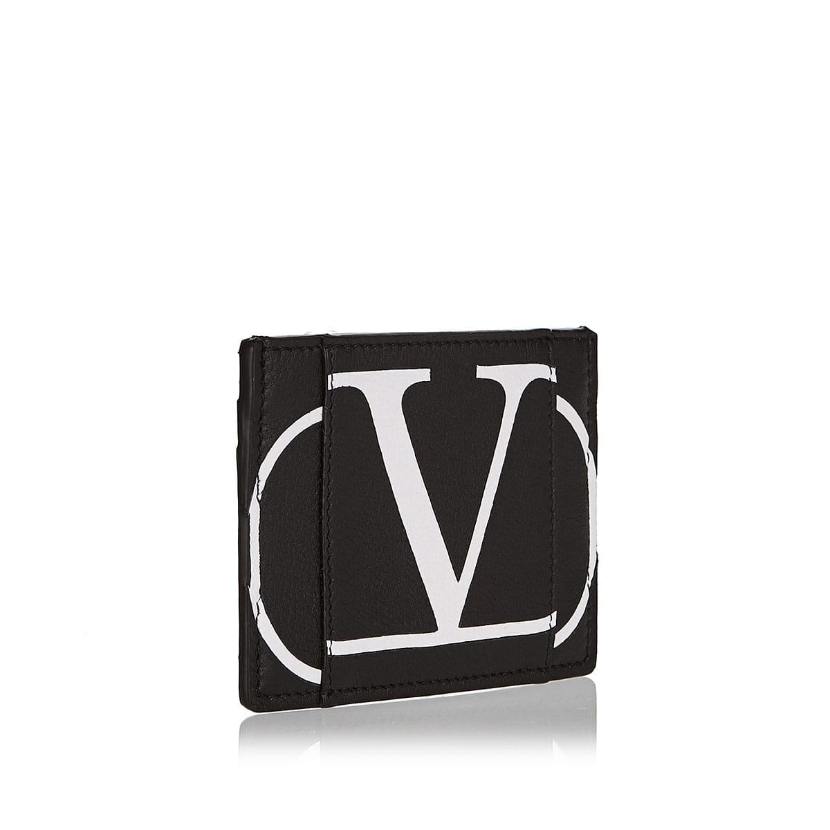 VLOGO leather cardholder
