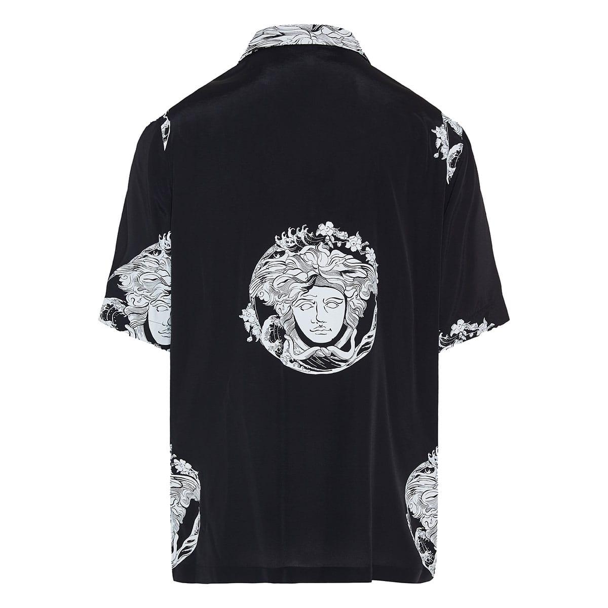 Medusa-printed shirt