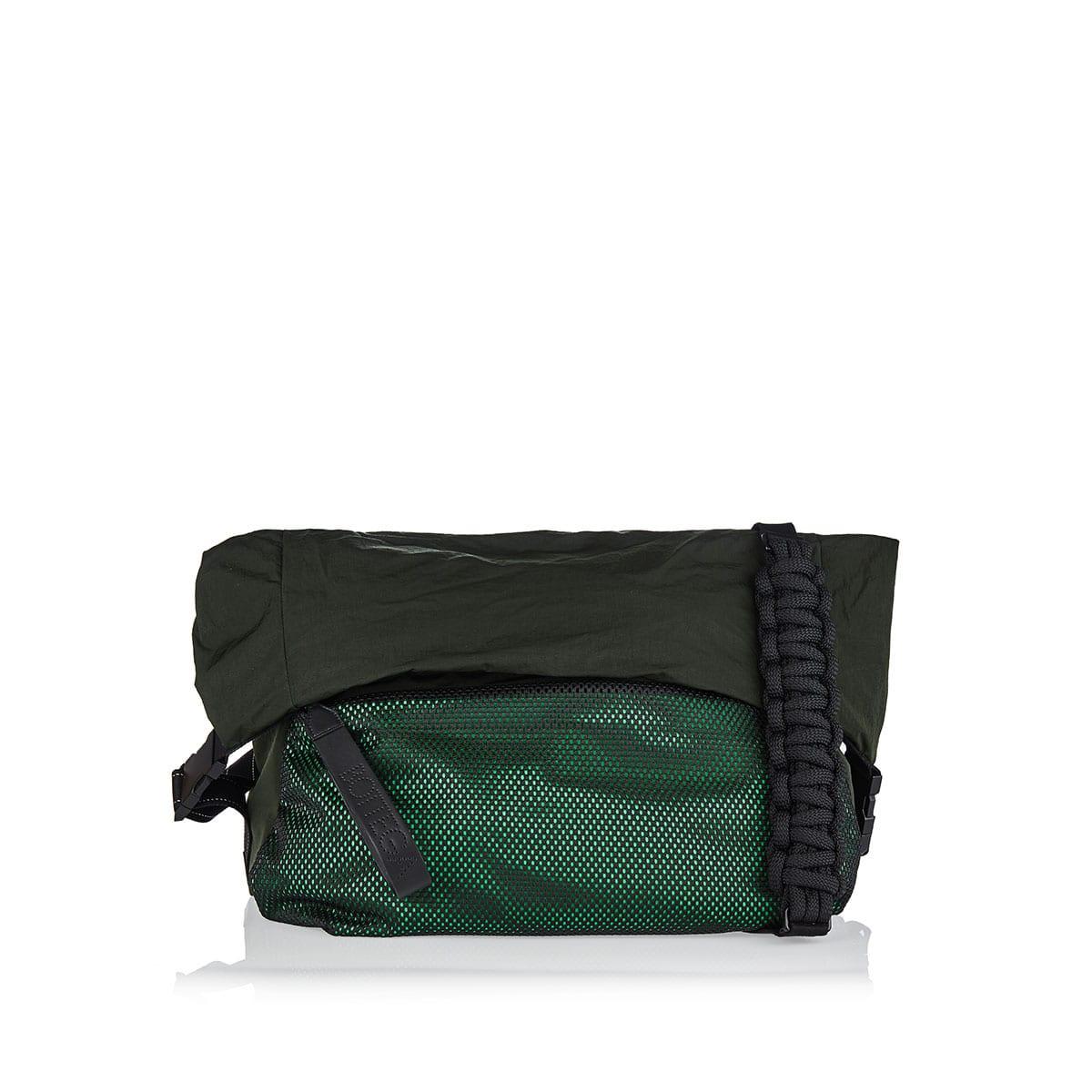 Large nylon messenger bag